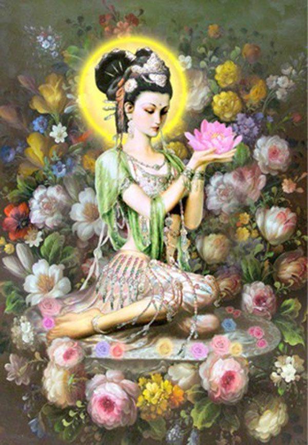 Kuan Yin, a Deusa da Compaixão. - Espirit book