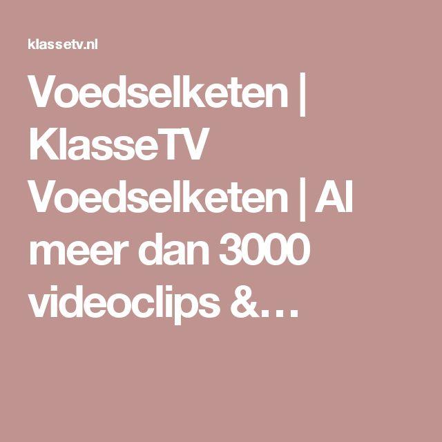 Voedselketen | KlasseTV Voedselketen | Al meer dan 3000 videoclips &…