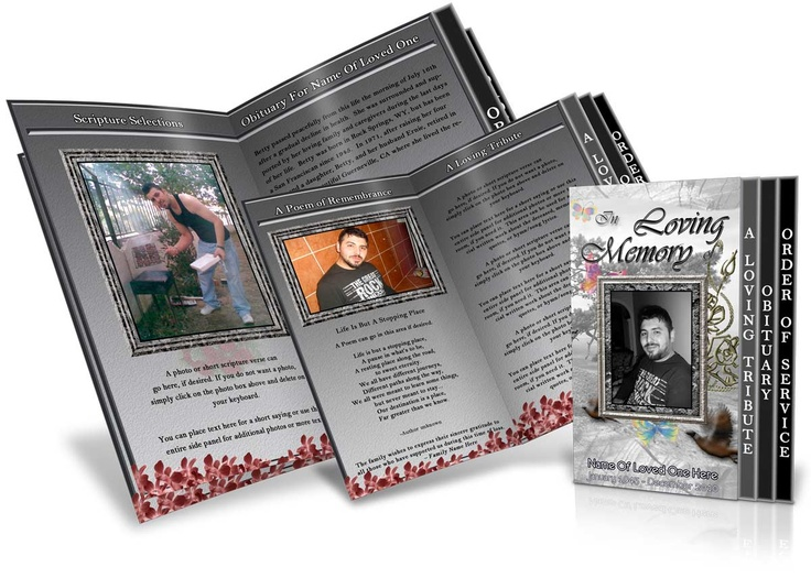 139 best Funeral Program Templates Thank You Cards images on - sample obituary