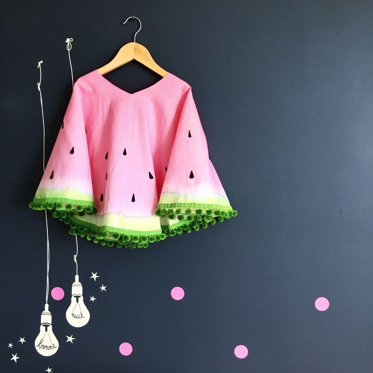 Watermelon costume DIY