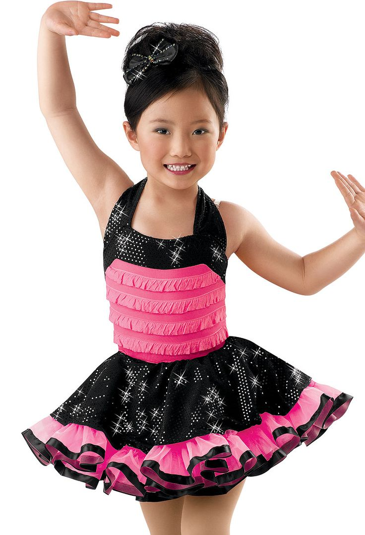 Ruffle Bodice with Sequin Skirt; Weissman Costumes