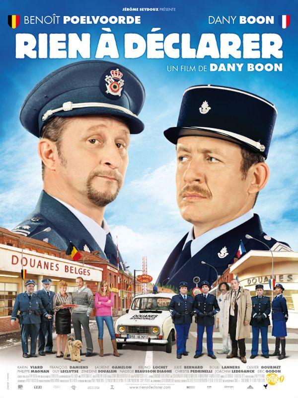Rien à déclarer est un film franco-belge écrit et réalisé par Dany Boon, sorti en 2010. Acteurs principaux: Benoît Poelvoorde, Dany Boon, Julie Bernard, Karin Viard, François Damiens. Wikipédia