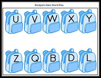 Kindergarten Common Core Center Kit:  6 Back To School Themed Games