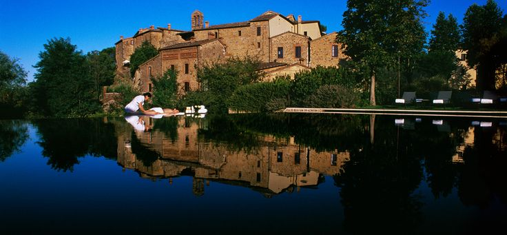Castel Monastero, 23 km from Siena, in the middle of Chiantishire; 73 rooms and a meeting space for 150 people, it has the elegant rustic harmony of an  ancient Tuscany castle