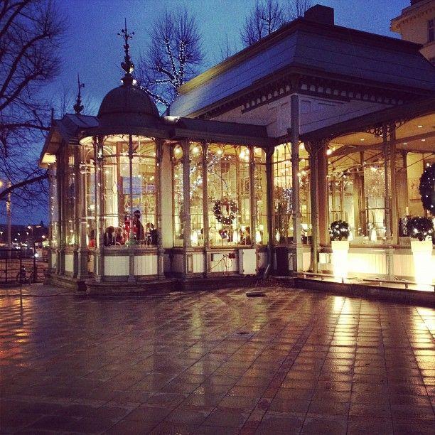 A charming little restaurant in Helsinki