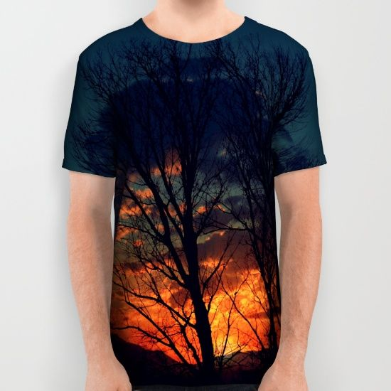 Buy sunset All Over Print Shirt by haroulita. Worldwide shipping available at Society6.com. Just one of millions of high quality products available.