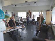 Our main teaching studio