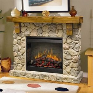 1000 Ideas About Electric Fireplace With Mantel On