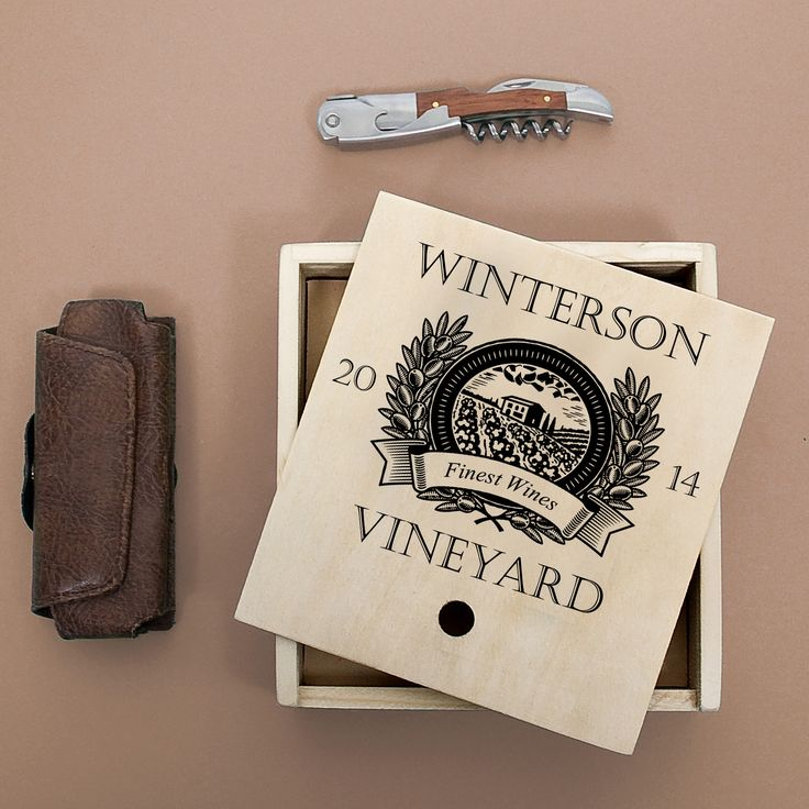 Waiter's Friend Wine Set - Vintage Vineyard - yourgifthouse