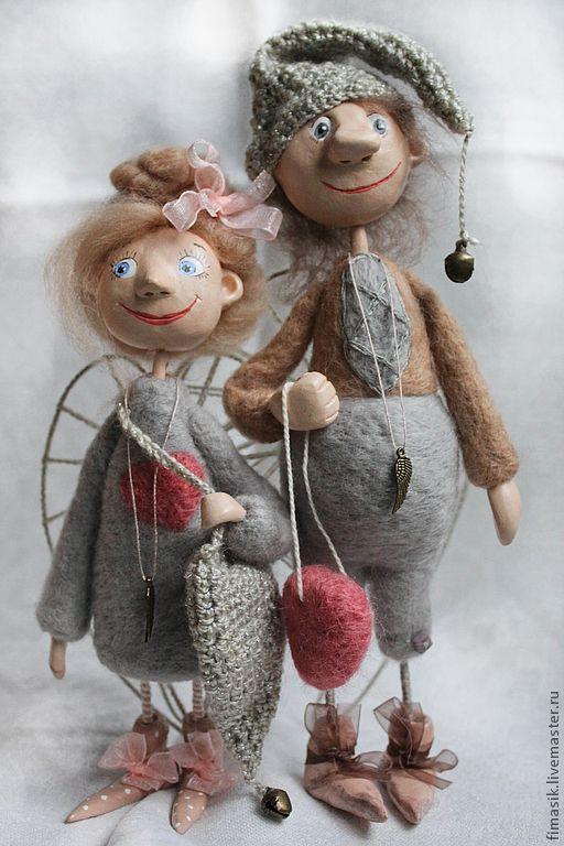 Купить Поль и Полли - феечка, ангелочки, домовушка, подарок на любой случай, подарок девушке