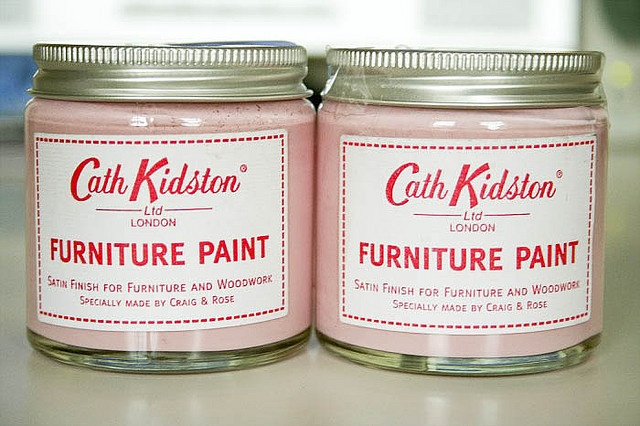 Cath Kidston pink paint...seriously??  I love Cath Kidston.