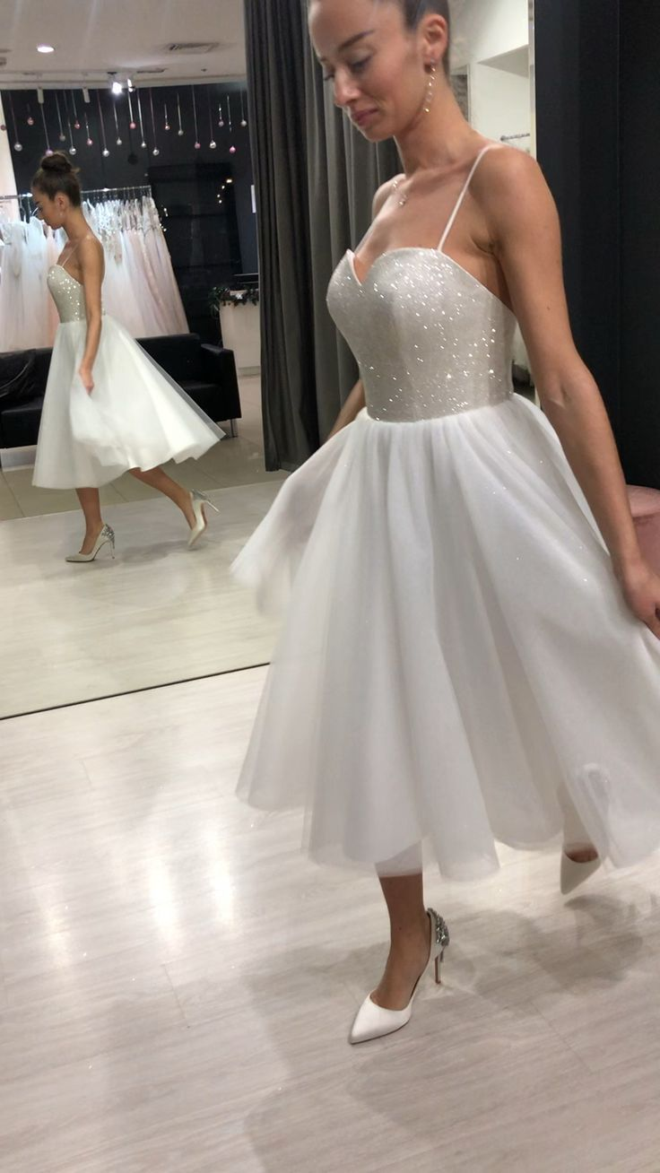 Short Wedding Dress Kay By Olivia Bottega Long Sleeves Cocktail Dress Short Bridal Gown Casual W Short Wedding Dress Homecoming Dresses Short Bridal Gown [ 1308 x 736 Pixel ]
