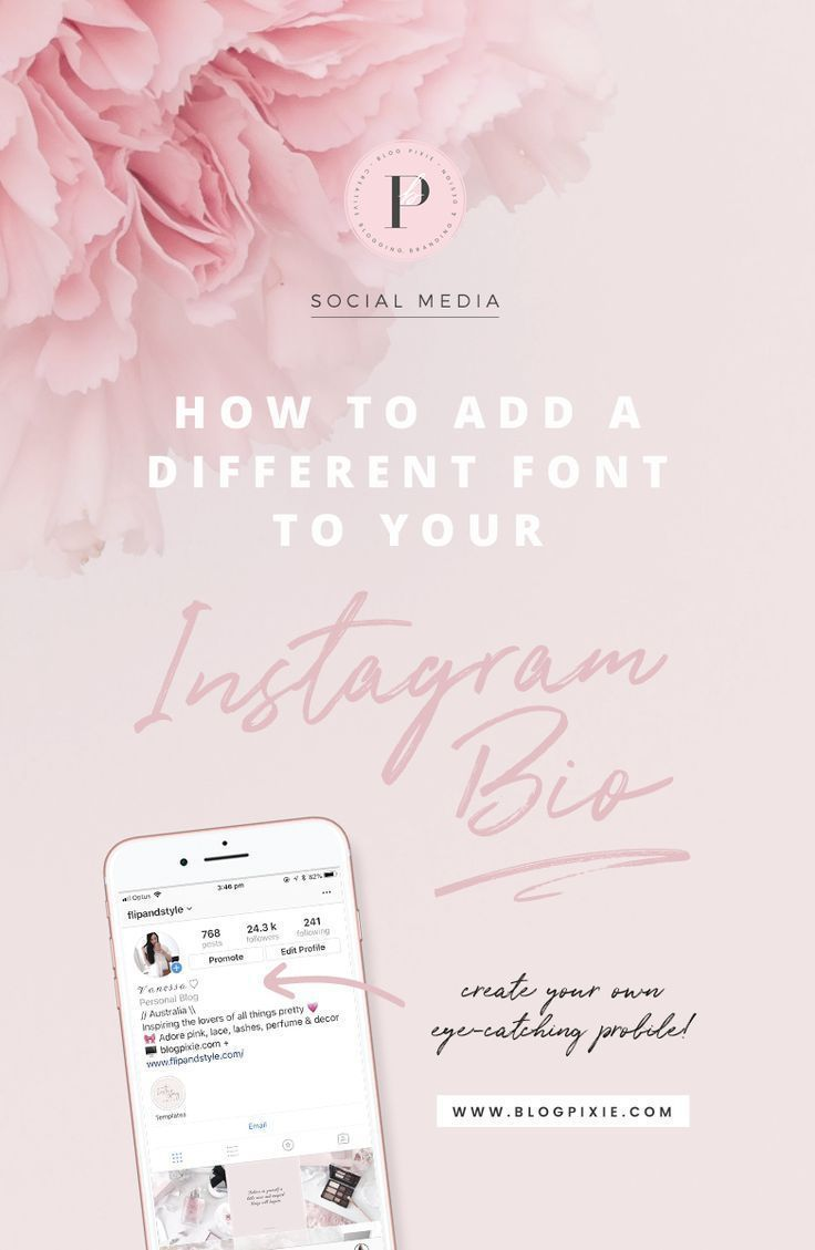 How To Add A Different Font To Your Instagram Bio Instagram Font Instagram Business Instagram Bio
