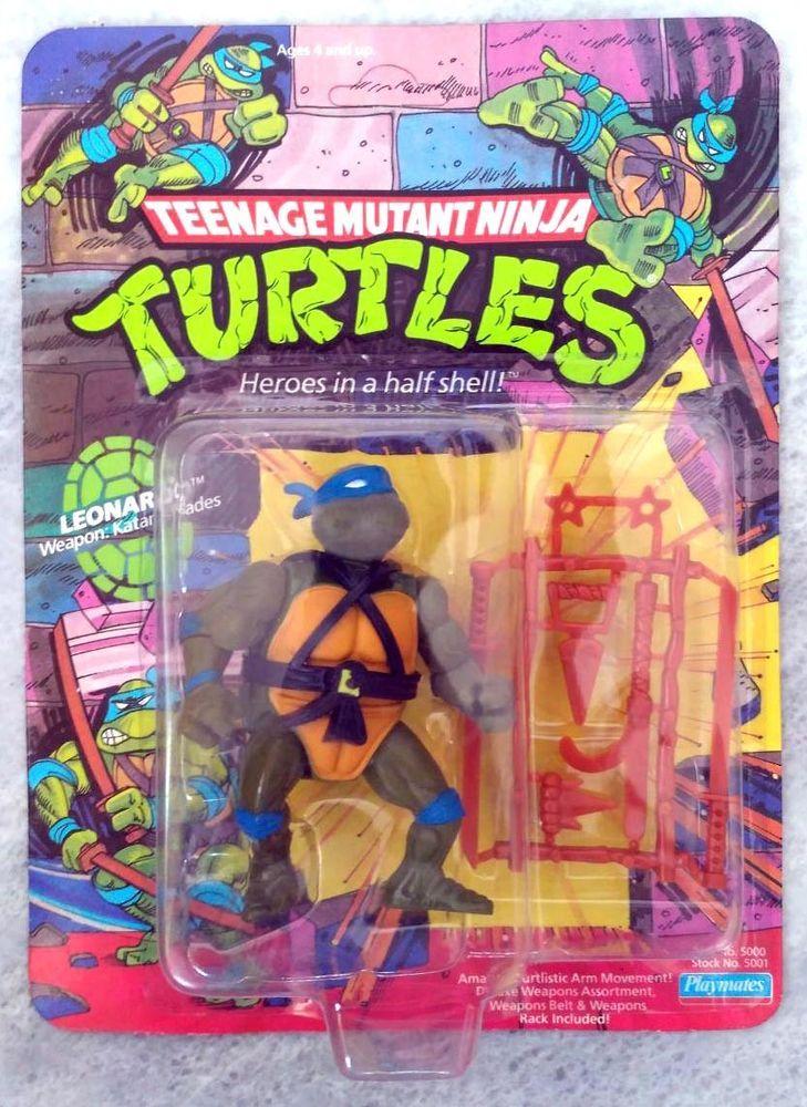 Leonardo Teenage Mutant Ninja Turtles TMNT 1988 Playmates Toys #PlaymatesToys