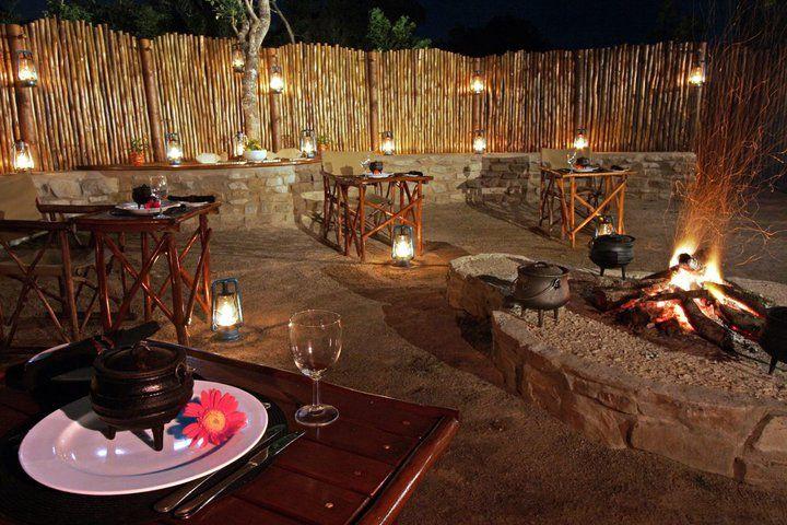 Boma dinner at Sibuya Game Reserve #KentononSea #EasternCape #SouthAfrica www.sibuya.co.za
