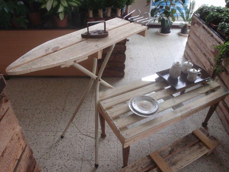 strijkplank / salontafeltje