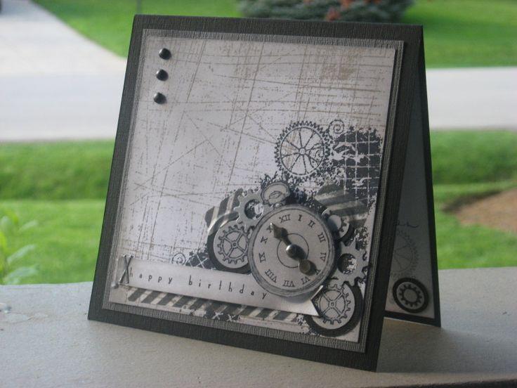 Time Flies! by Weekend Warrior - Cards and Paper Crafts at Splitcoaststampers