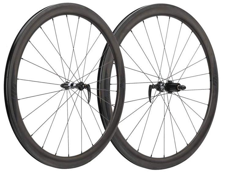 Performance Bike Wheelhouse 45 Carbon Clinchers road bike wheels built by Zipp
