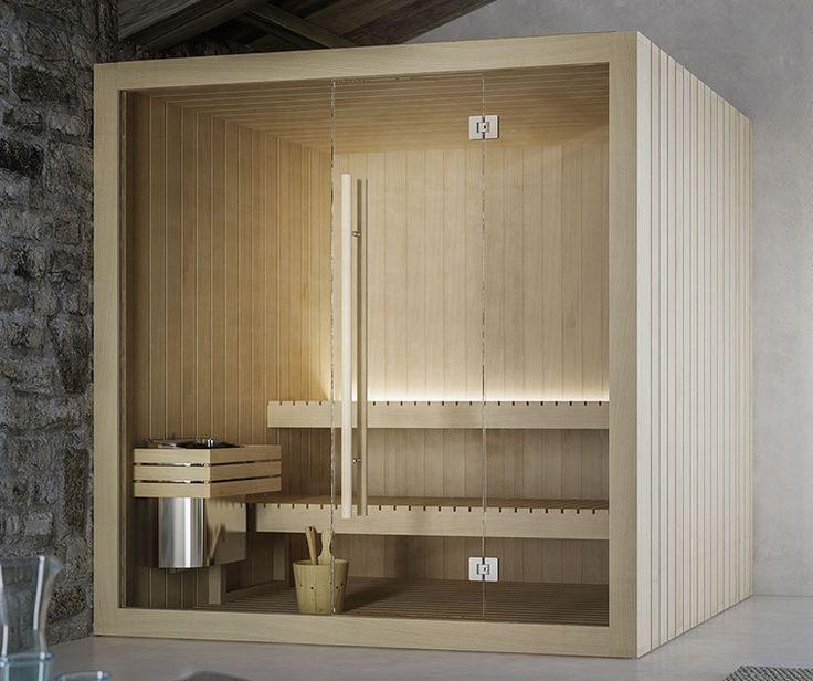 HOSHI, sauna finlandesa hecho en Hemlock
