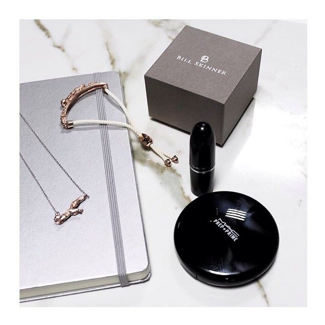 Make up and Jewels - Always a necessity! #lavishalice #billskinner #fashion #jewellery #style #wiwt #bloggers #fbloggers