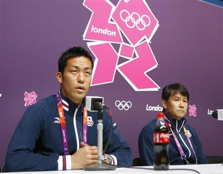 Captain Maya Yoshida @ london olympics 2012