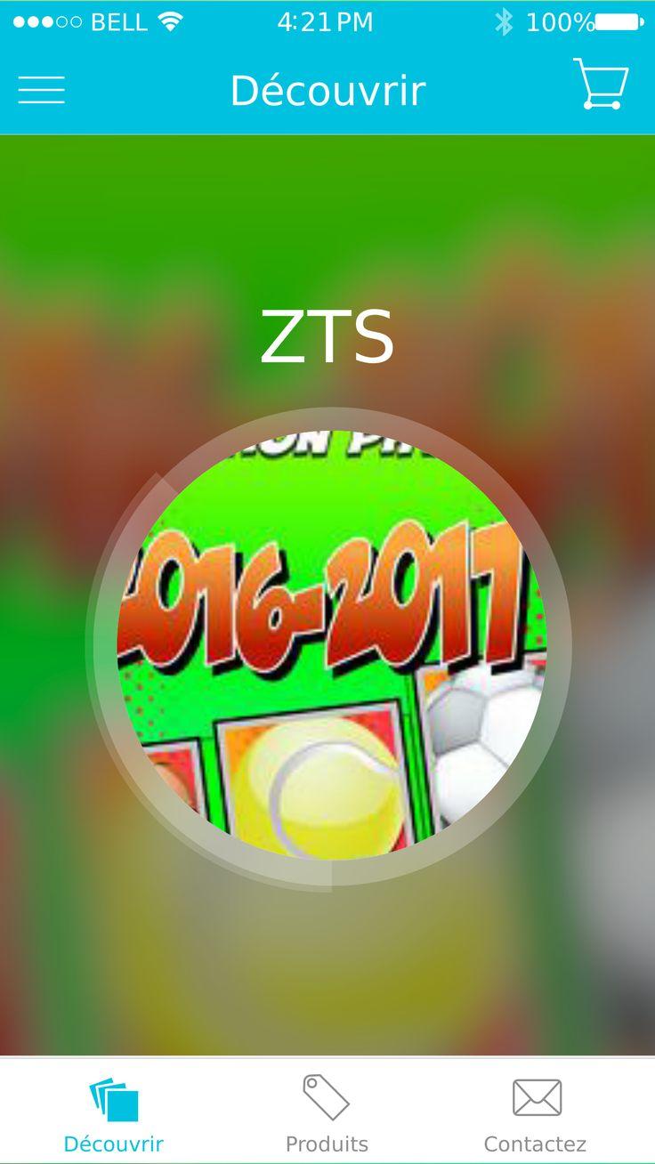 Zone Total Sport Mobile App