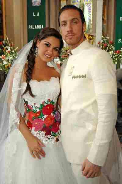 Mexican Inspired wedding dress