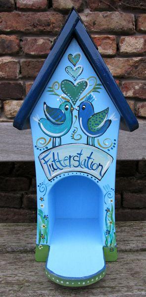 Vogelhäuschen - Futterhaus - Futterstation von Vogelhäuschen auf DaWanda.com