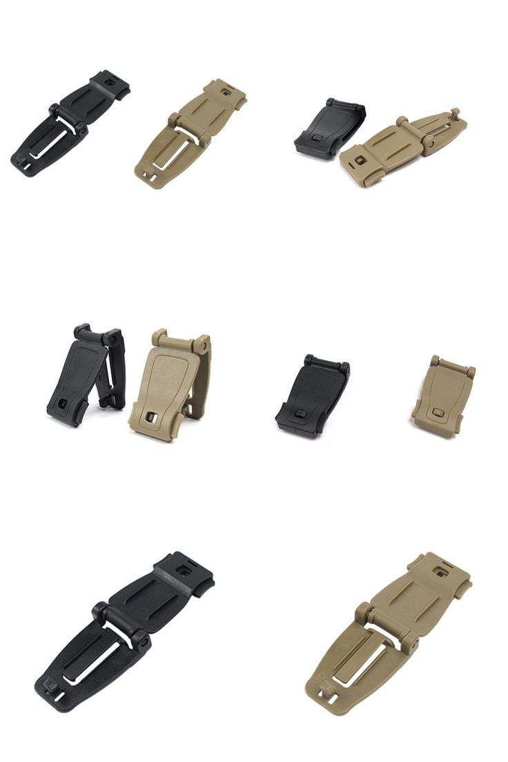 [Visit to Buy] 2pcs EDC Clip Buckles Molle System Bag Backpack Strap Connecter Buckles Kits Camping Hiking Mountain Climbing Tools Newest LM43 #Advertisement