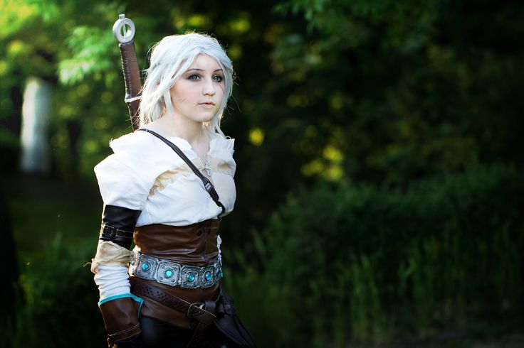 Cirilla of Cintra cosplay  Cosplayer - Juriet Cosplay Character - Ciri from The witcher Photographer - Hussie Art