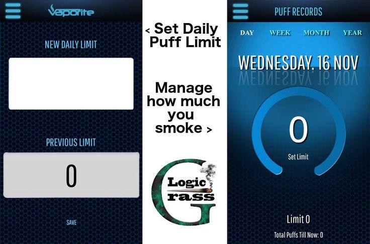 Vaporite Platinum Plus – The Iphone of Vaporizers - Application Monitor your smoking App