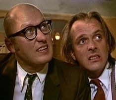 Adrian Edmonson & Rik Mayall, my all-time favourite comedy partnership