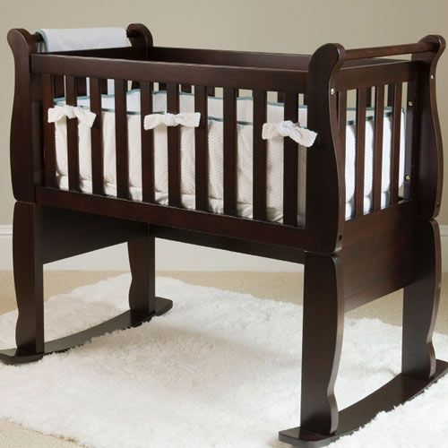 Now Forever Wooden Cradle In Choice Of Color Baby Bassinet Babies And Nursery