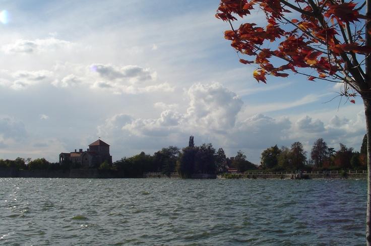 The billowy Danube in September