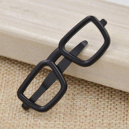 Eyeglass Frame Bars : Amazon.com: Mens Novelty Square Glasses Frame Shape Tie ...