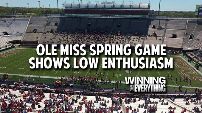 Ole Miss: 2017 Football Enthusiasm is in Serious Trouble