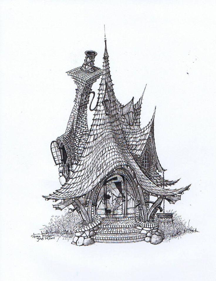 Sweeping Cottage by ArkDezigner.deviantart.com on @deviantART