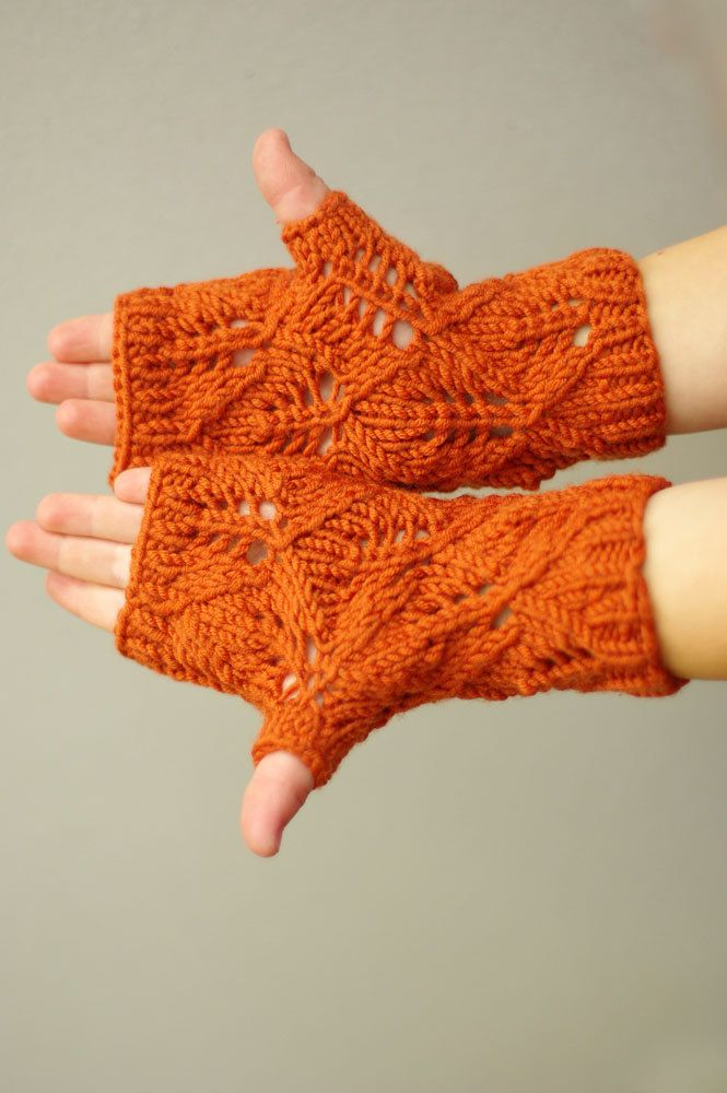 Kids Fingerless Gloves Knit Wrist Warmers Girls Mittens Winter Fashion Christmas gift for girls crochet mittens girls mitts arm warmers by ESTtoYou on Etsy