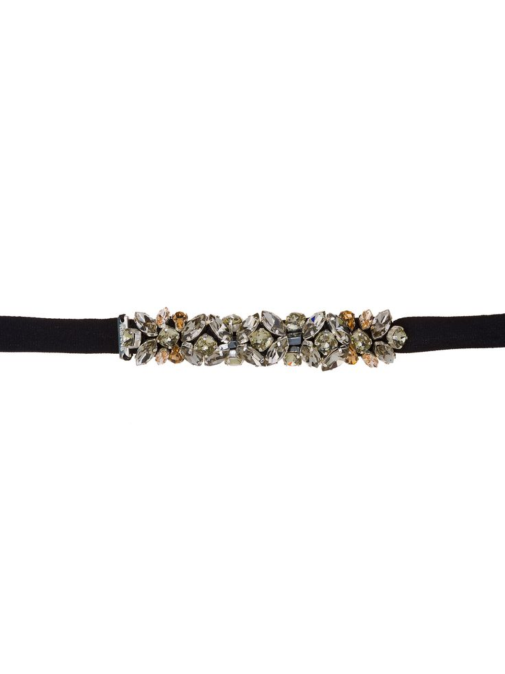 'Rose' crystal-embellished bracelet will bring attitude to every outfit. RIENNE Rose Bracelet from Designrs.co