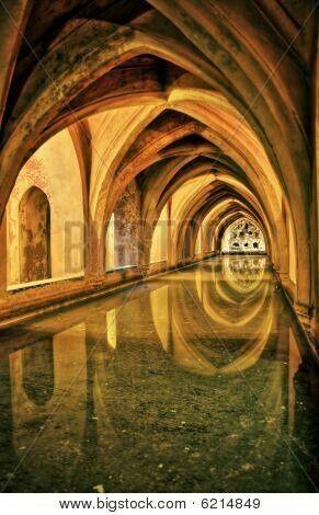 Los Baños de María de Padilla de el Alcazar de Sevilla