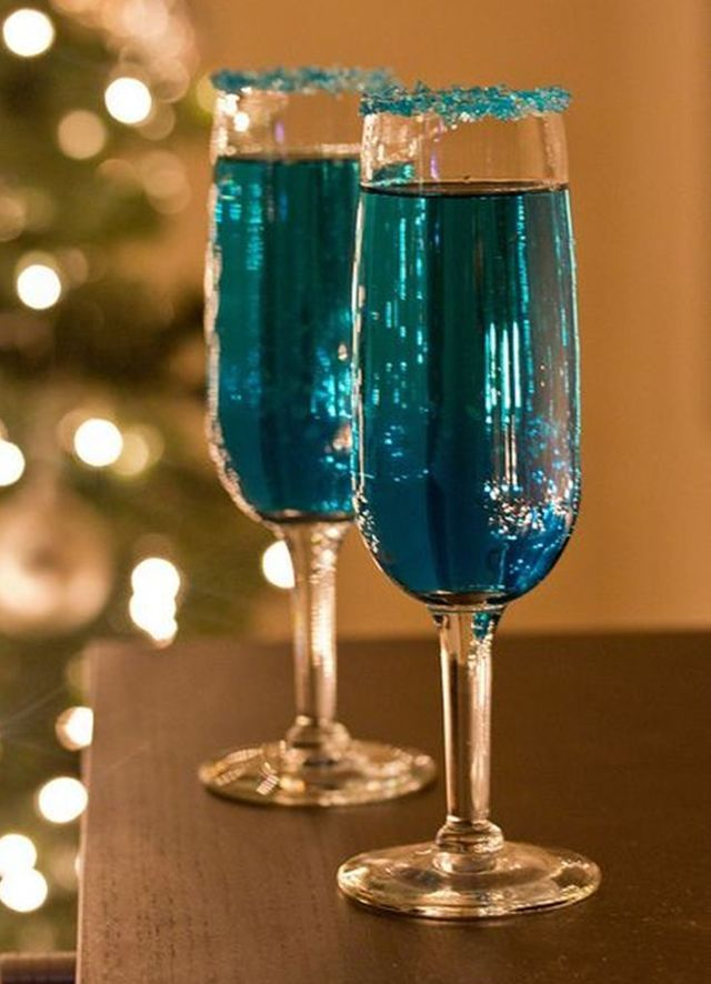 Blue Sparkling Star