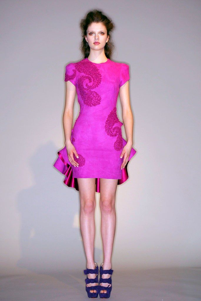 Mejores 71 imágenes de Marchesa 2010 en Pinterest | Desfile de moda ...