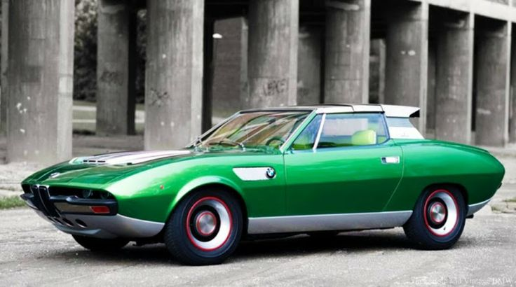 BMW 2800 Bertone Spicup Coupe, 1969