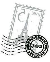 Transfer sello postal