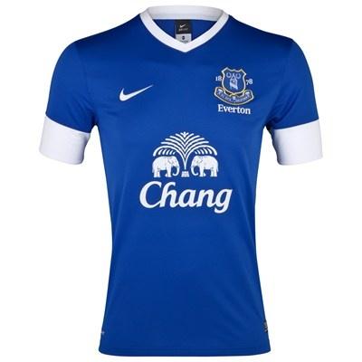 Equipo Everton 2012-13