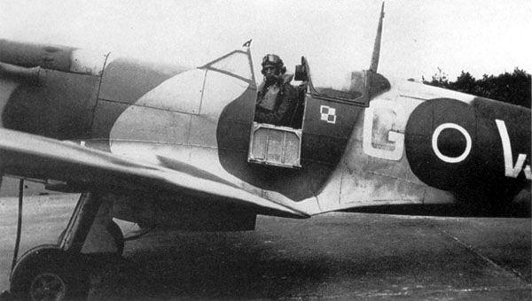 Supermarine Spitfire Mk.Vb, AA854,WX-G, 302 (Polish) Squadron, pilot Sgt. Hipolit Mikusek,1942