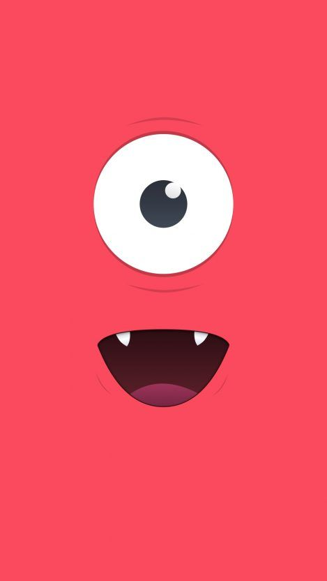 Cute Red Monster Iphone Wallpaper Iphone Wallpapers Spongebob