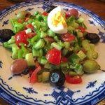ジャジューカ - 料理写真:モロッコの角切り野菜のサラダ