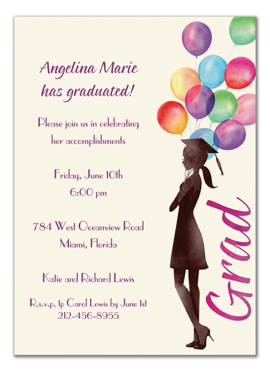 32 best Graduation Invitations images – Graduation Invite