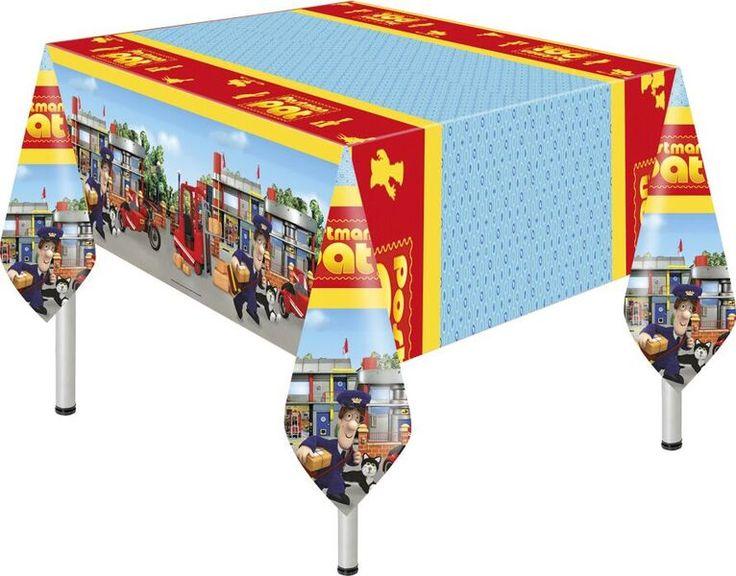 Flot plastik dug med Postmand Per tema. Perfekt til din børnefødselsdag med Postmand Per som tema.